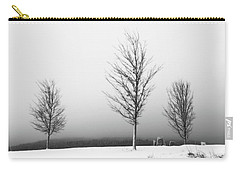 Three Trees In Winter Carry-all Pouch