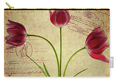 Three Tulips Letter Carry-all Pouch