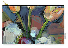 Three Tulips Carry-all Pouch