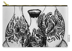 Three Vases Carry-all Pouch