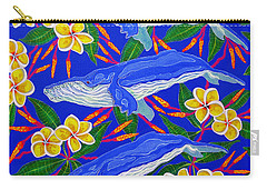 Three Whales  Carry-all Pouch