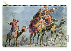Three Wise Men Carry-all Pouch by Sydney Goodwin