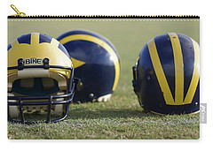 Three Wolverine Helmets Carry-all Pouch