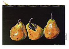 Three Yellow Pears Carry-all Pouch