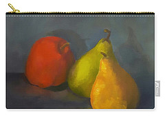 Three's A Crowd Carry-all Pouch by Genevieve Brown