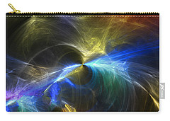Carry-all Pouch featuring the photograph Threshold by Mark Blauhoefer