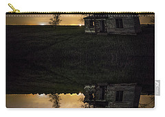 Carry-all Pouch featuring the photograph Through A Mirror Darkly  by Aaron J Groen