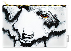 Through The Bears Eyes Carry-all Pouch