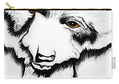 Through The Eyes Of The Bear Carry-all Pouch