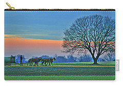 Through The Fields Carry-all Pouch by Scott Mahon