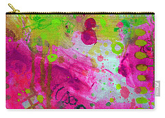 Carry-all Pouch featuring the painting Through The Fire by Tracy Bonin