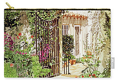 Through The Garden Gate Carry-all Pouch