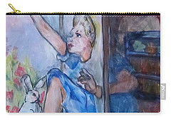 Through The Looking Glass Carry-all Pouch by Barbara O'Toole