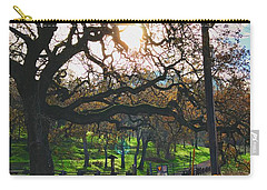 Through The Oaks Carry-all Pouch