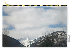 Carry-all Pouch featuring the photograph Through The Pass by Jewel Hengen