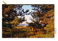 Through The Pine Grove Carry-all Pouch