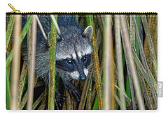 Through The Reeds - Raccoon Carry-all Pouch
