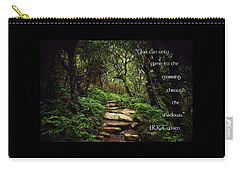 Through The Shadows Carry-all Pouch by Jessica Brawley