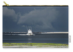 Carry-all Pouch featuring the photograph Through The Storm by Phil Mancuso