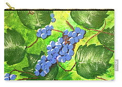 Through The Vines Carry-all Pouch by Cynthia Morgan