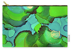 Carry-all Pouch featuring the painting Through The Waters by Michele Myers