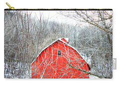 Carry-all Pouch featuring the photograph Through The Woods by Julie Hamilton