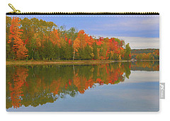Carry-all Pouch featuring the photograph Thumb Lake by Trey Foerster