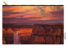 Thundercloud Over The Palouse Carry-all Pouch