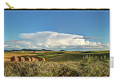 Thunderhead And Bales Carry-all Pouch