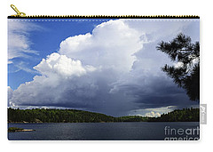 Thundershower Over Slim Lake Carry-all Pouch