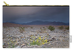 Thunderstorm Over Death Valley National Park Carry-all Pouch