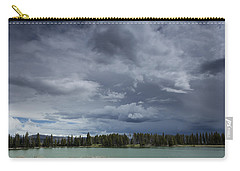 Thunderstorm Over Indian Pond Carry-all Pouch