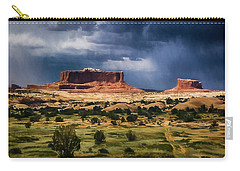 Thunderstorms Approach A Mesa Carry-all Pouch