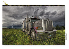 Carry-all Pouch featuring the photograph Thunderstruck by Aaron J Groen