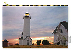 Tibbetts Point Lighthouse, July Sunset Carry-all Pouch