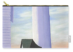 Carry-all Pouch featuring the painting Tibbett's Point by Lynne Reichhart