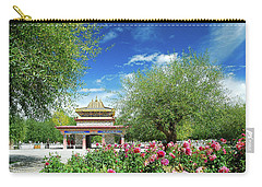Tibet Scenery In Autumn Carry-all Pouch