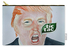 Tic Tac Trump Carry-all Pouch by Edwin Alverio