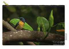 Tickell's Blue Flycatcher Carry-all Pouch