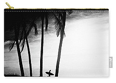 Carry-all Pouch featuring the photograph Ticla Palms by Nik West
