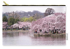 Tidal Basin Cherry Trees Carry-all Pouch