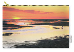 Tidal Flats At Sunset Carry-all Pouch