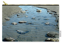 Carry-all Pouch featuring the photograph Tidal Pools by 'REA' Gallery
