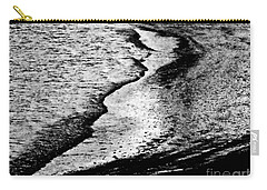 Tidal Wave Reaching For The Shoreline Carry-all Pouch by Carol F Austin