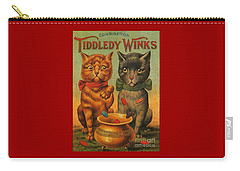 Tiddledy Winks Funny Victorian Cats Carry-all Pouch
