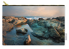 Carry-all Pouch featuring the photograph Tide Pool by Robin-Lee Vieira