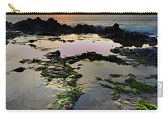 Tide Pools Carry-all Pouch by James Roemmling