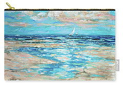 Tide Rising Carry-all Pouch by Linda Olsen