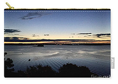 Tides At Dawn On Casco Bay Carry-all Pouch by Patricia E Sundik