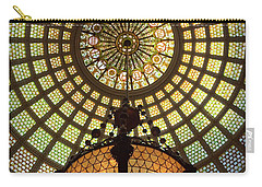 Tiffany Ceiling In The Chicago Cultural Center Carry-all Pouch
